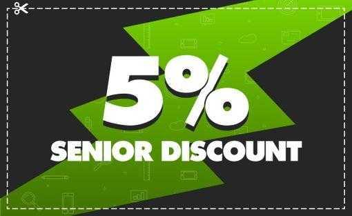 5% discount