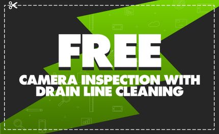 Free Camera Inspection with Drain Cleaning