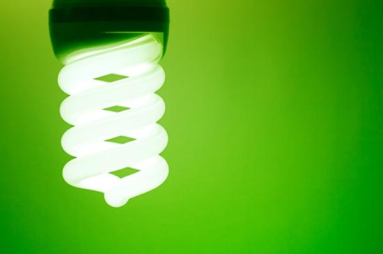 LED lightbulb in Kansas